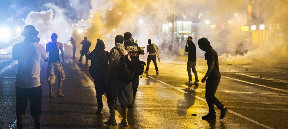 Foto: Las protestas raciales de Ferguson, desde dentro