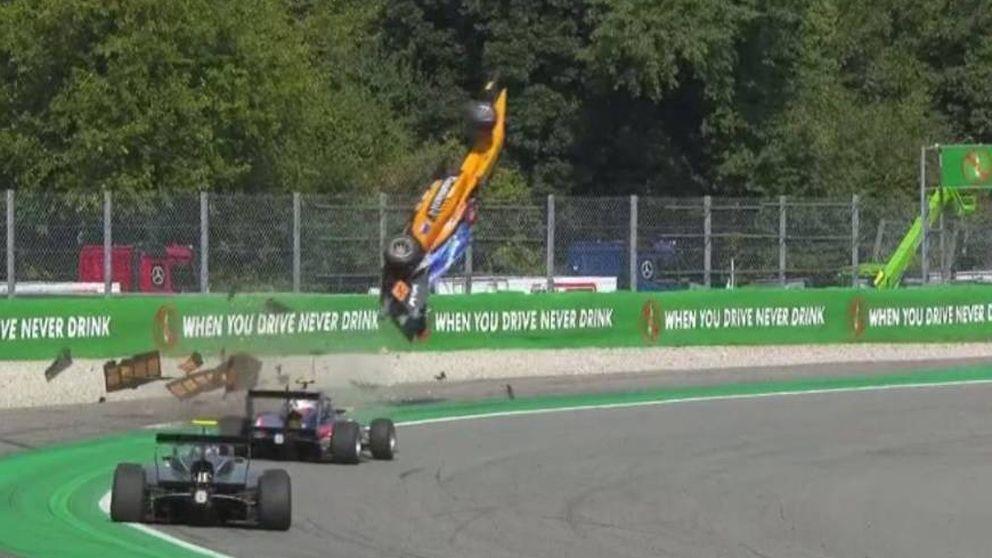 El durísimo accidente en la Fórmula 3 que casi acaba en tragedia