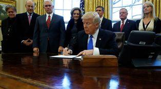 Trump y la banda de los cinco