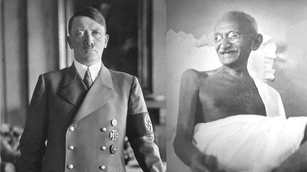 Foto: Son dos de las figuras más importantes del siglo XX, pero por razones bien distintas.
