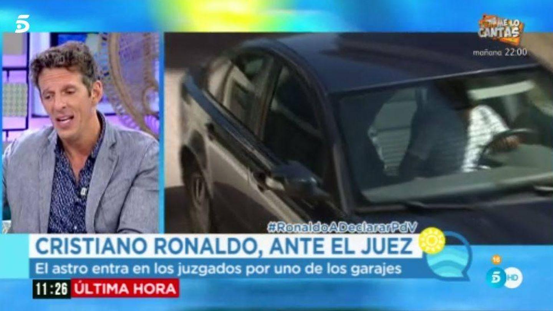 Joaquín Prat espera desde 'El programa del verano' la declaración de Cristiano.