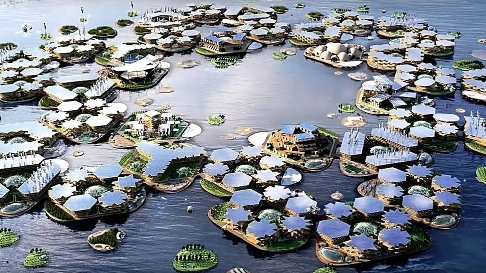 La ciudad del futuro que quiere la ONU: limpia, sostenible... y en medio del mar