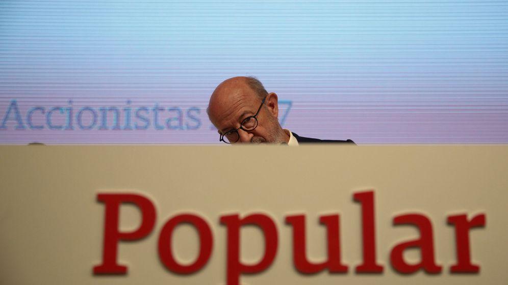 Foto: El presidente del Banco Popular, Emilio Saracho. (Reuters)