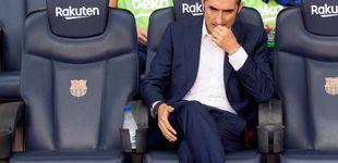 Post de Valverde juega a pensarse la renovación en un Barcelona que está lleno de espinas