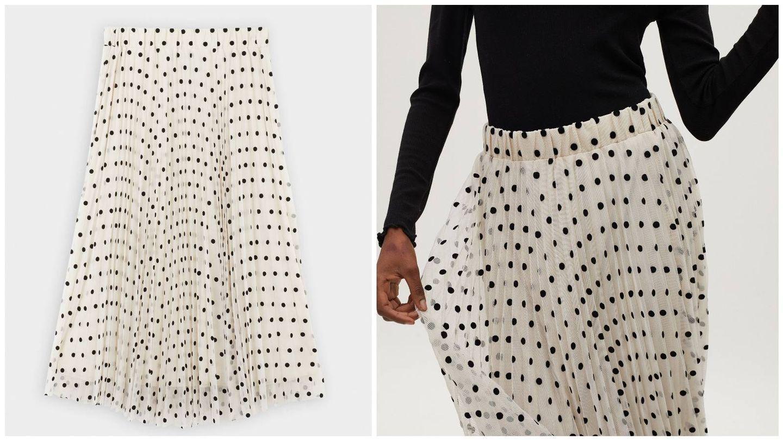 Falda de la nueva colección de Parfois. (Cortesía)