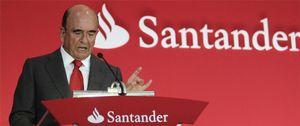 Foto: El Santander gana un 26% menos a pesar del fin del saneamiento del ladrillo