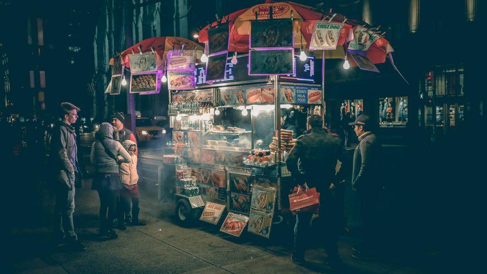 Foto: Un puesto callejero en una imagen de archivo