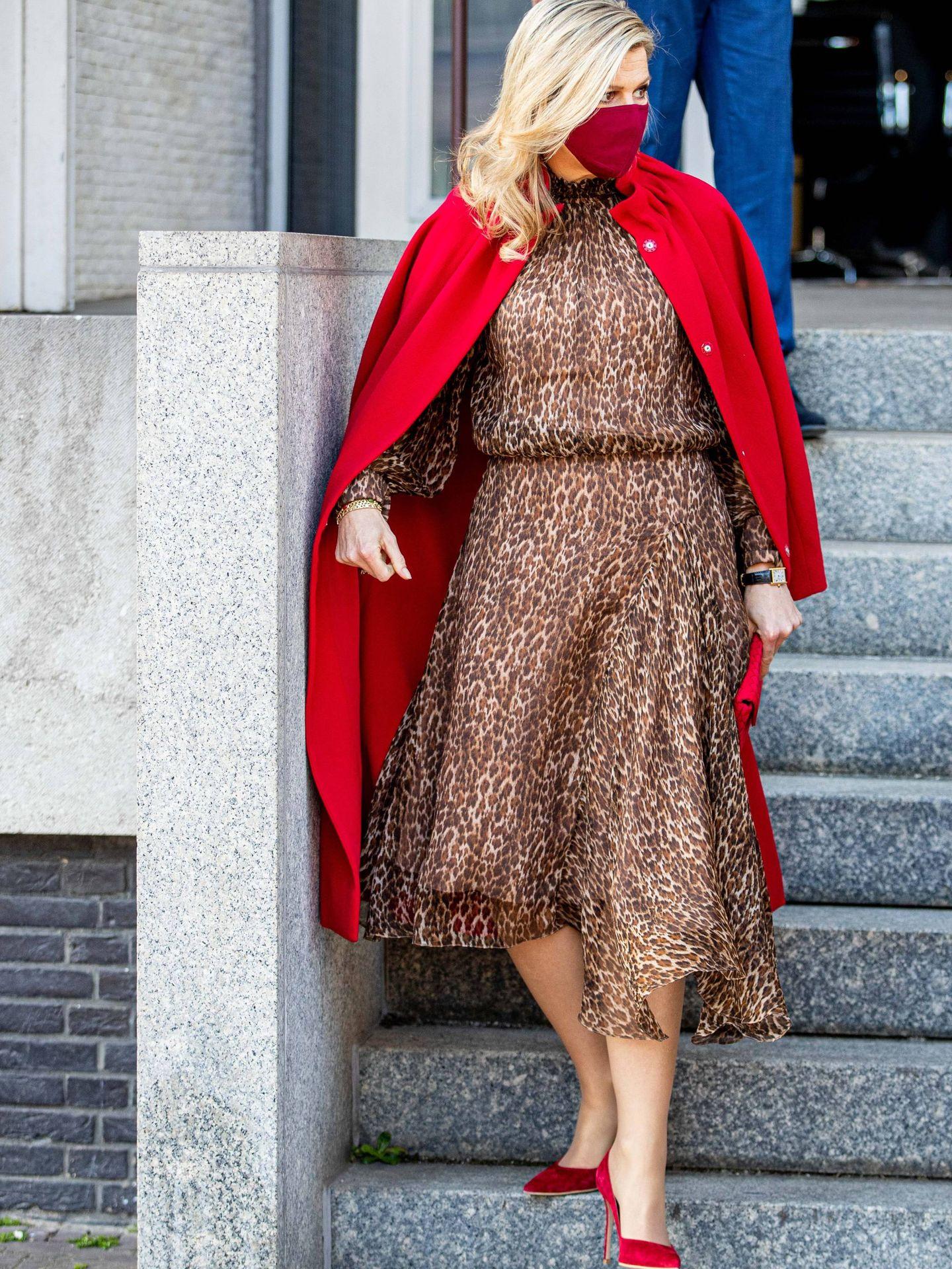 La reina de Holanda. (CP)