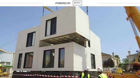 Industrializadas en tiempo récord: cómo contruirán tu casa más rápido