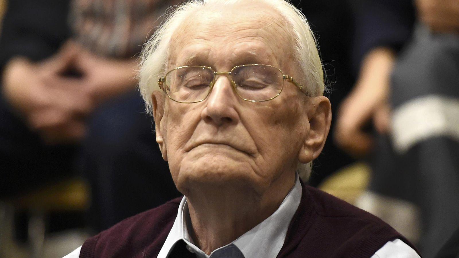 Foto: Oskar Gröning, 'contable de Auschwitz' (Reuters)
