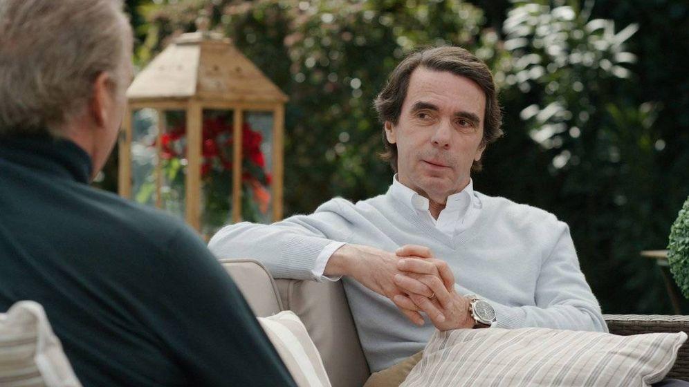 Foto: Entrevista a José María Aznar en 'Mi casa es la tuya', de Bertín Osborne.