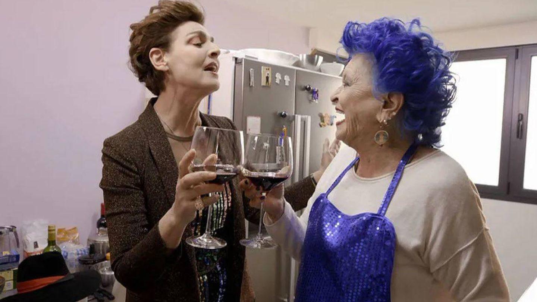 Antonia y Lucía, en 'Ven a cenar conmigo'. (Cuatro)