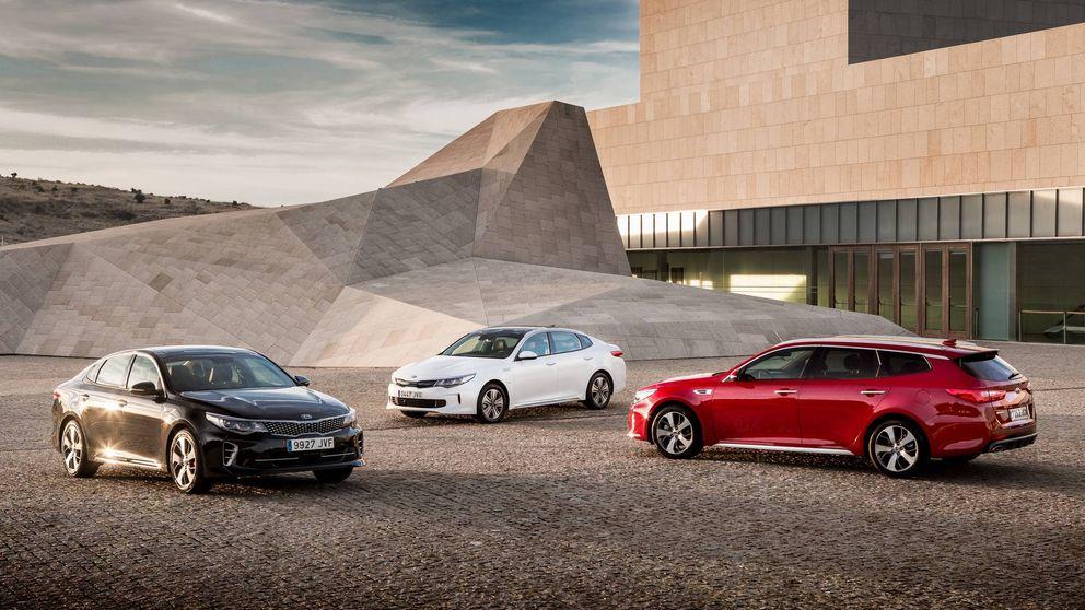 Kia completa su gama Optima con las versiones GT y familiar