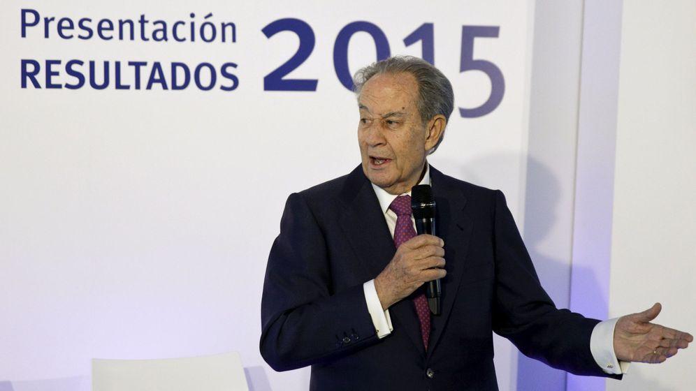 Foto: Juan Miguel Villa Mir en la última presentación de resultados de OHL. (Reuters)