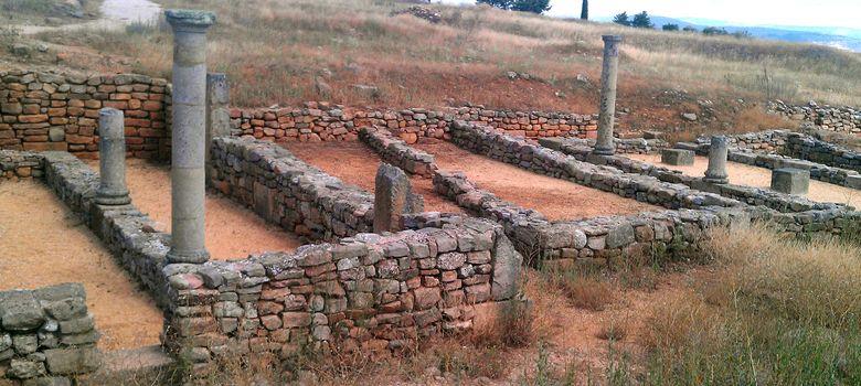 Foto: Algunas de las ruinas de Numancia en 2012. (JAIME F.P. / COMMONS)