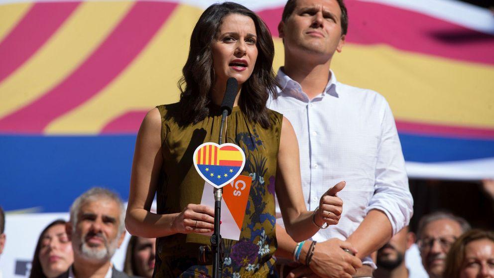 Inés Arrimadas: No todos podemos celebrar la Diada, pero no nos pueden expulsar