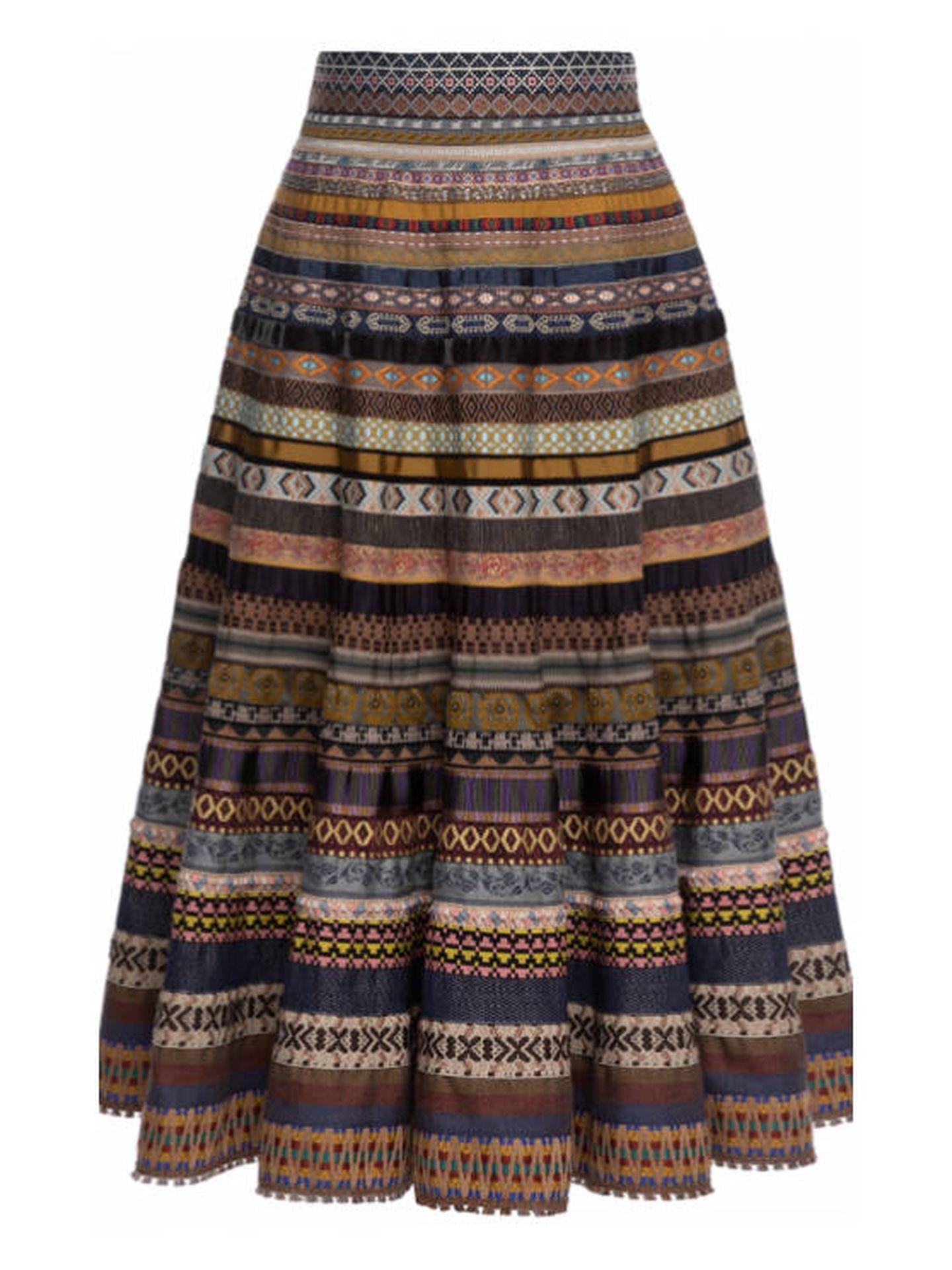 La falda de Lena Hoschek. (Cortesía)