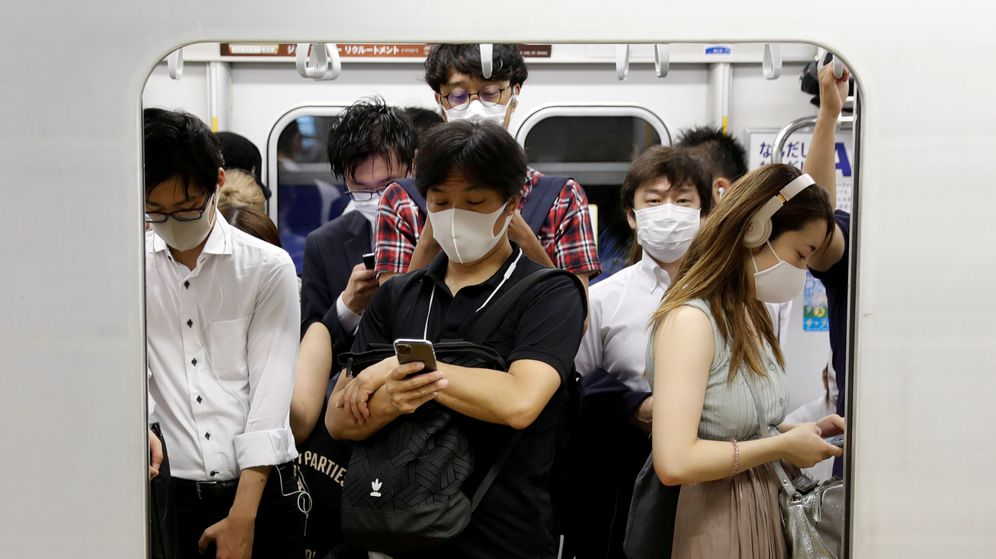 Foto: El metro de Tokio, el pasado 3 de julio. (Reuters)