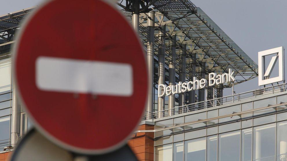 Deutsche Bank intenta achicar agua ante el fantasma de un rescate