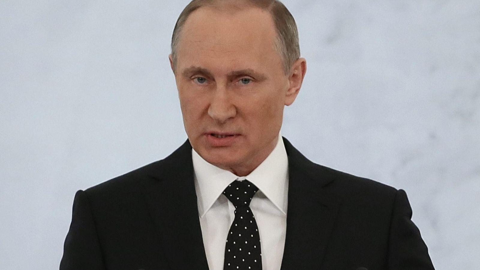 """Foto: Putin acusa a Turquía de """"llenarse los bolsillos con petróleo robado"""" (EFE)"""