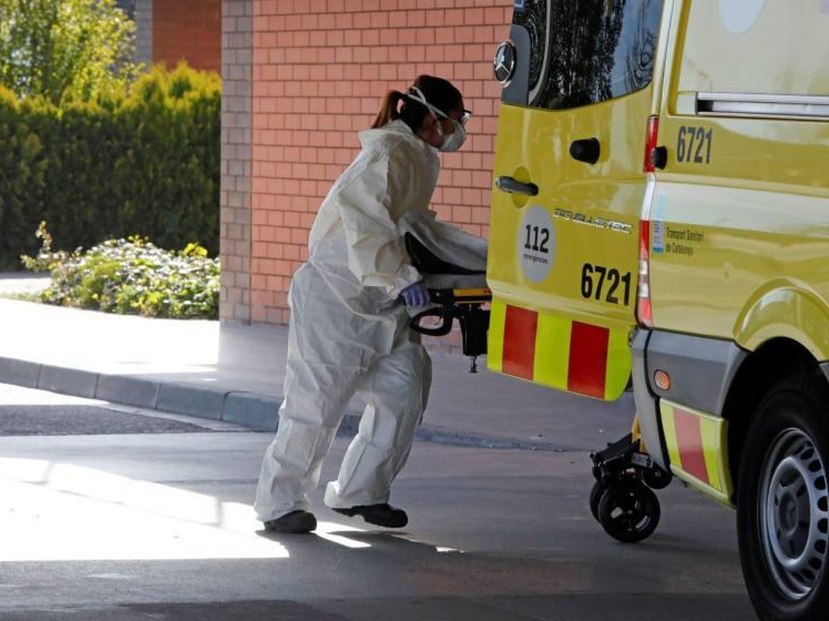 Foto: Urgencias del hospital de Igulada. (EFE)