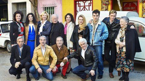 Pablo Rivero, Imanol Arias y el resto de la familia Alcántara se van de cena