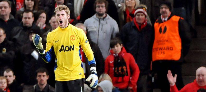 Foto: De Gea, con el Manchester United