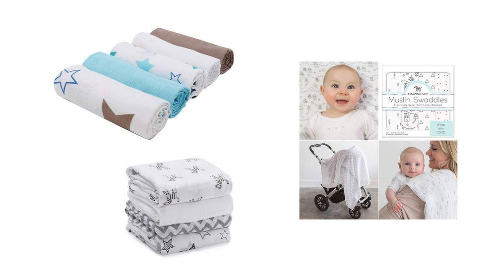 Foto: Las mejores muselinas para arrullar a tu bebé