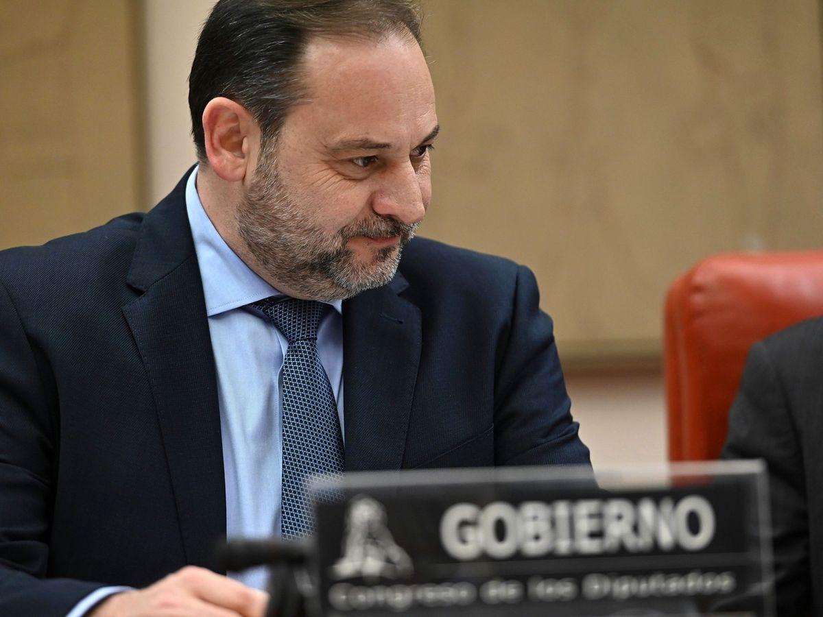 Foto: El ministro de Transportes, Movilidad y Agenda Urbana, José Luis Ábalos