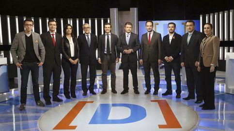 La tele pública acepta un debate de tercera con la audiencia por los suelos