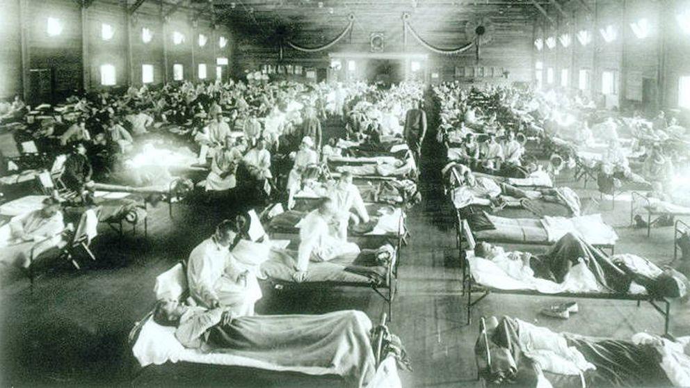 El quinto jinete del apocalipsis: cien años de la gripe española