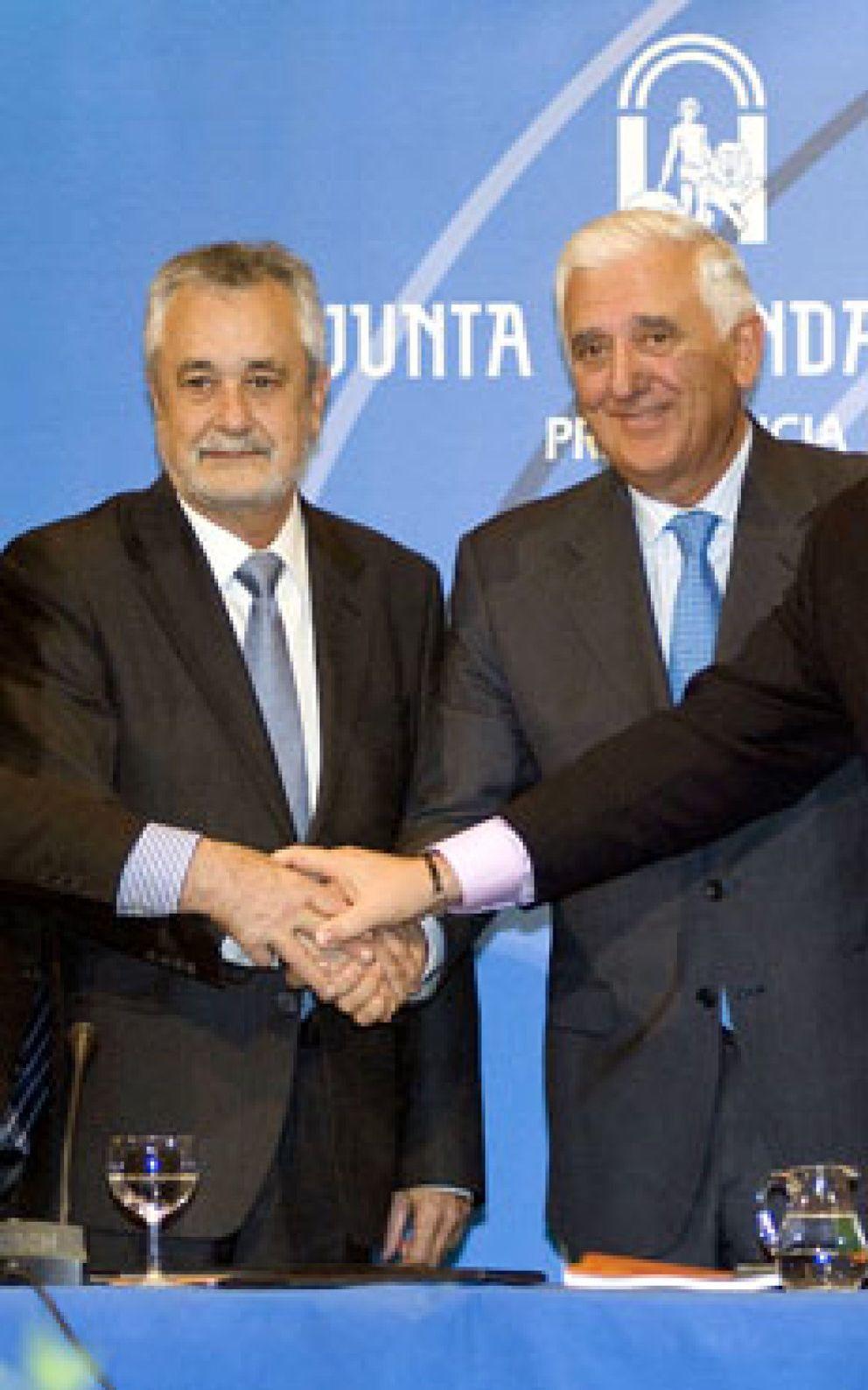 Foto: Griñán quiere al presidente de los empresarios andaluces como 'número uno' de la CEOE
