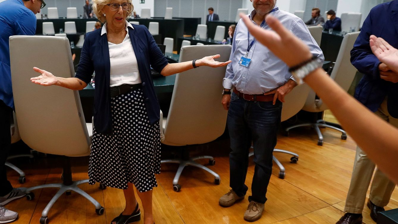 'Enchufes', San Isidro, menos IBI: los 10 acuerdos de pleno que incumple Carmena