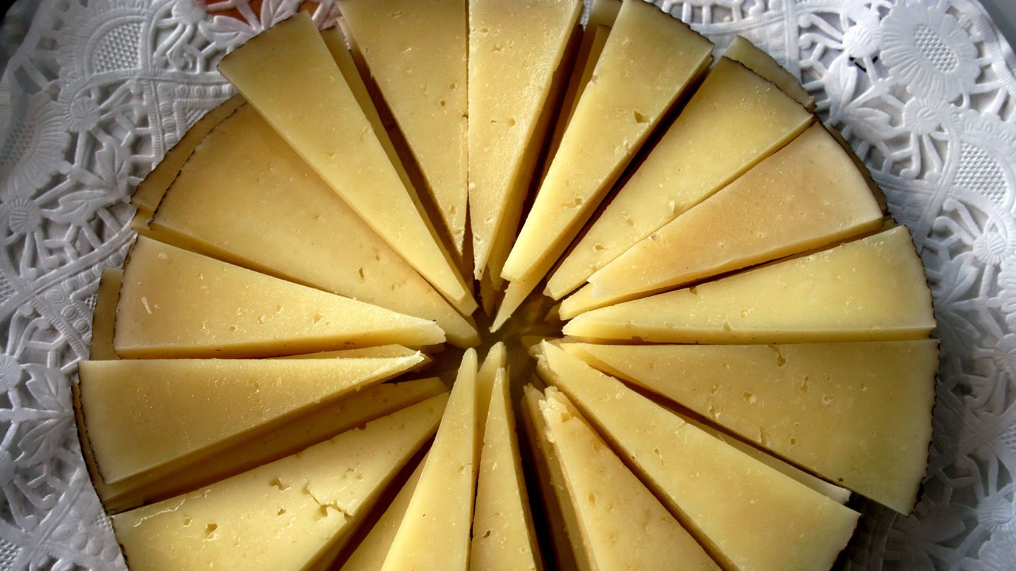 Queso manchego. (iStock)