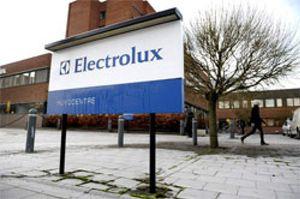 Electrolux ganó un 30 % más en el primer semestre