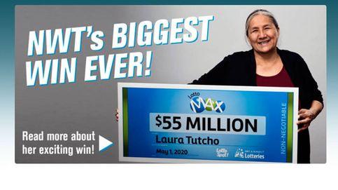 Gana 55 millones a la lotería y consigue que sus nietos le guarden el secreto