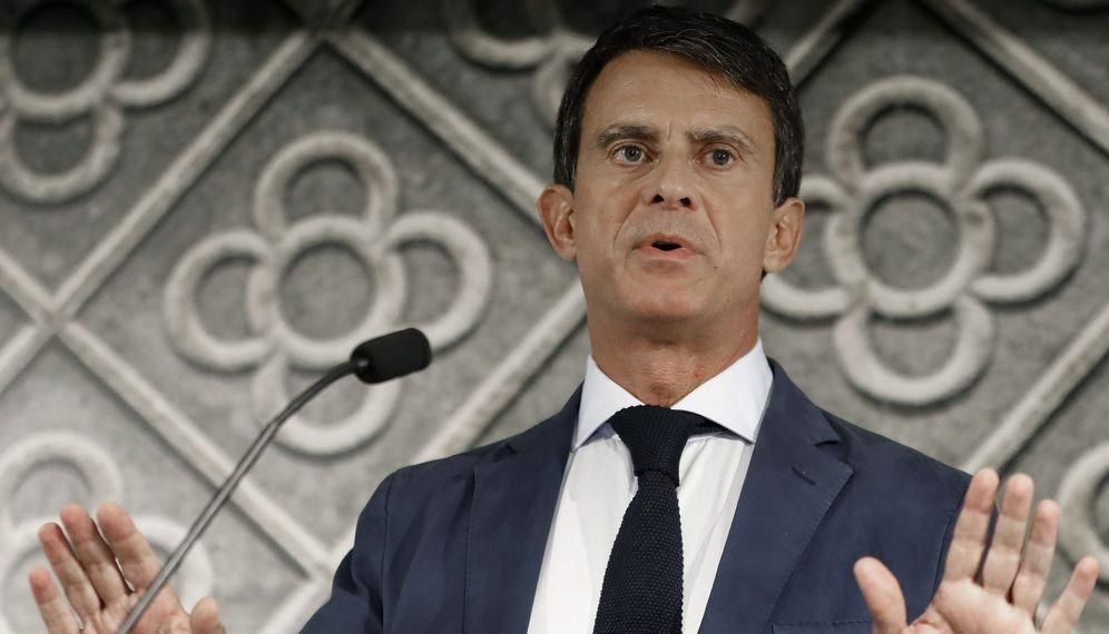 Foto: El ex primer ministro francés y candidato a la alcaldía de Barcelona, Manuel Valls. (EFE)