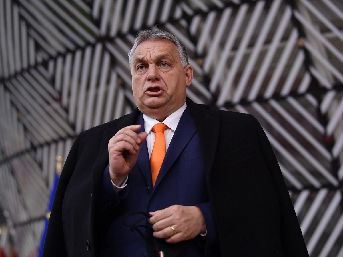 Foto: El primer ministro Viktor Orban. (EFE)