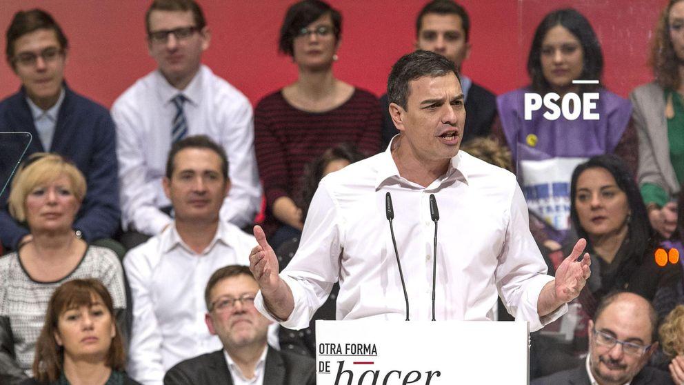 Sánchez convierte los logros de ZP y González en su cartel electoral