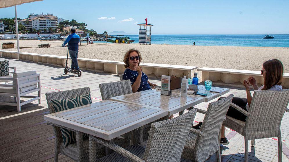 Foto: Playa de Palmanova, en Calvia. (EFE)
