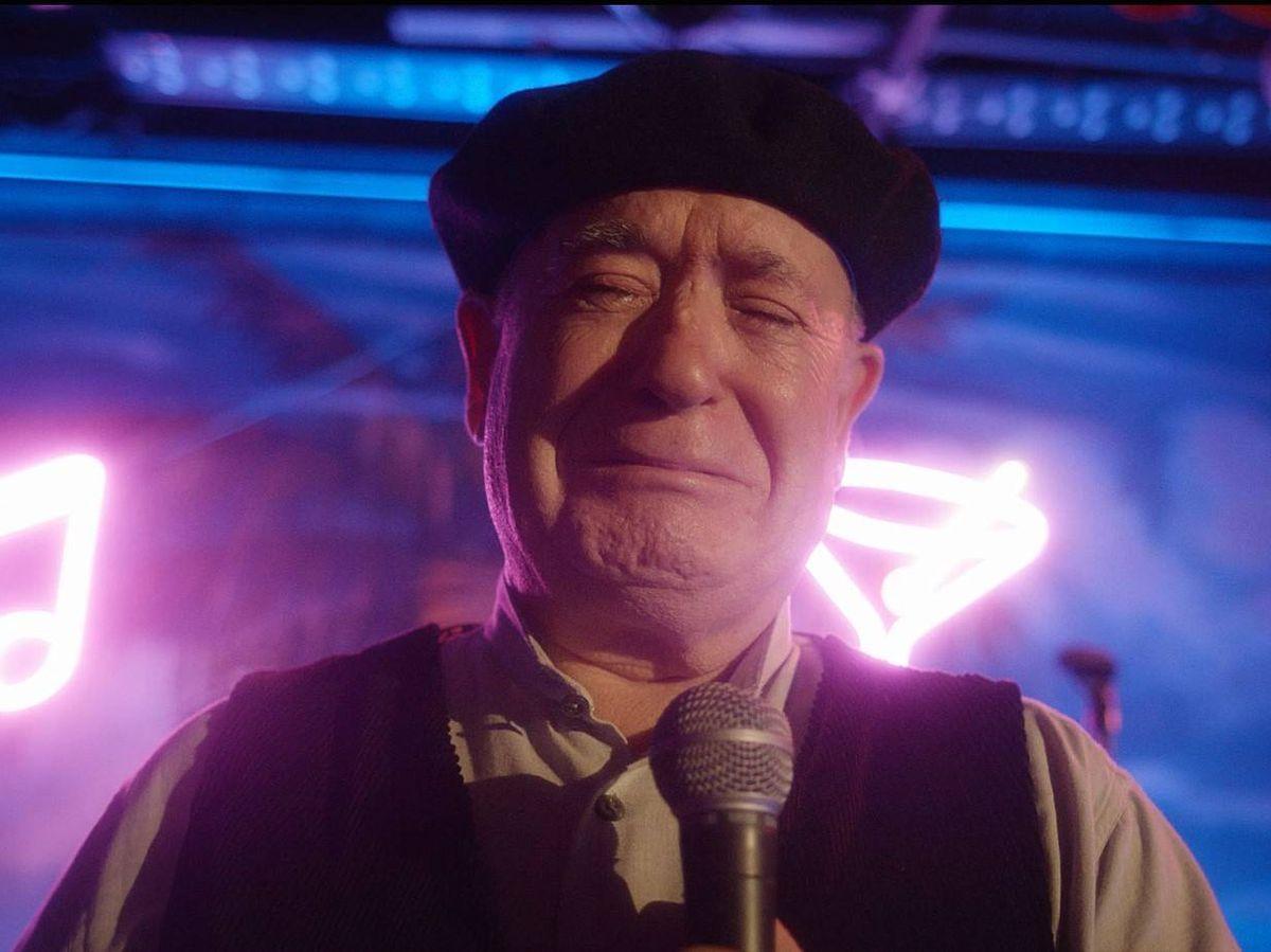 Foto: Miguel Ángel Tirado, en un fotograma de 'El último show'. (CARTV)