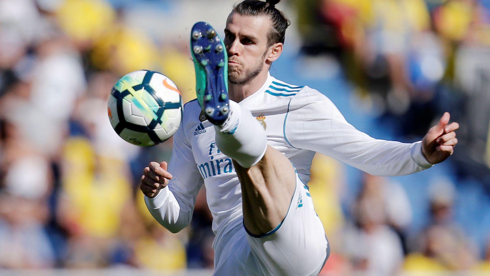 Foto: Gareth Bale en el último partido de Liga frente a Las Palmas. (Reuters)