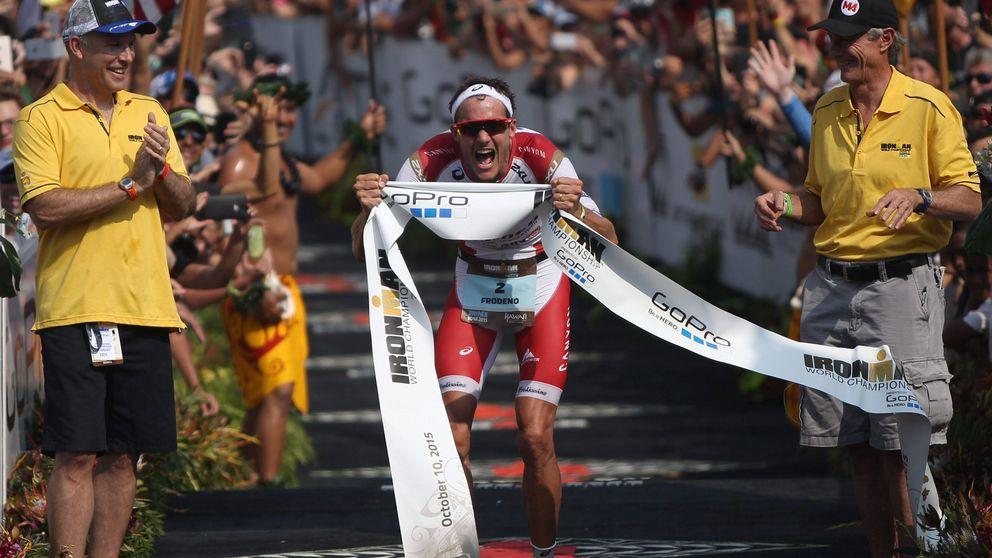 Buena actuación de Eneko Llanos e Iván Raña en el Ironman de Hawái
