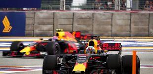Post de Red Bull y Ricciardo mandan en los libres en Singapur a la espera de Ferrari