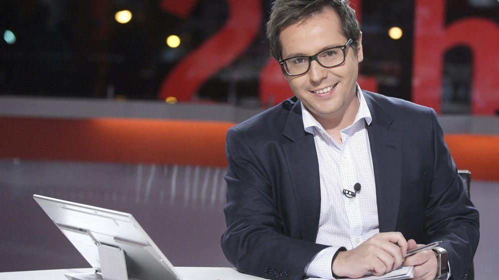 Foto: Sergio Martín, director del Canal 24 Horas y de 'La Noche en 24'. (EFE)
