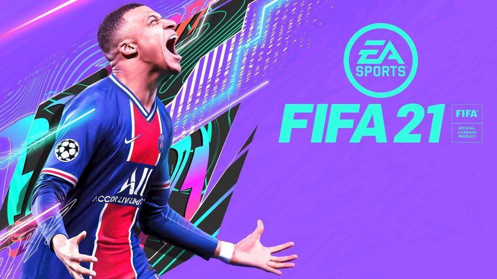 Foto: El delantero francés Mbappé es la imagen del videojuego de EA Sports 'FIFA 21'