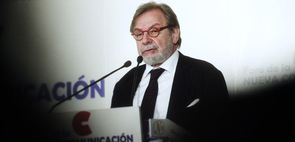 El presidente ejecutivo del Grupo Prisa, Juan Luis Cebrián. (E. Villarino)