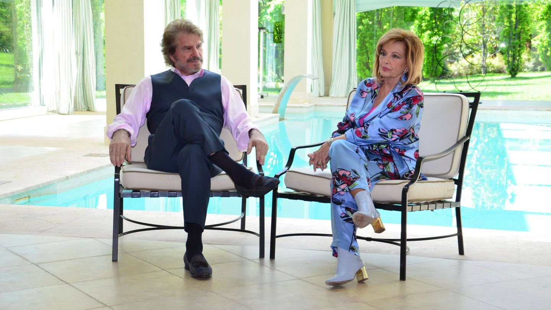 Edmundo Arrocet y Campos en una de las propiedades de la periodista. (Cordon Press)