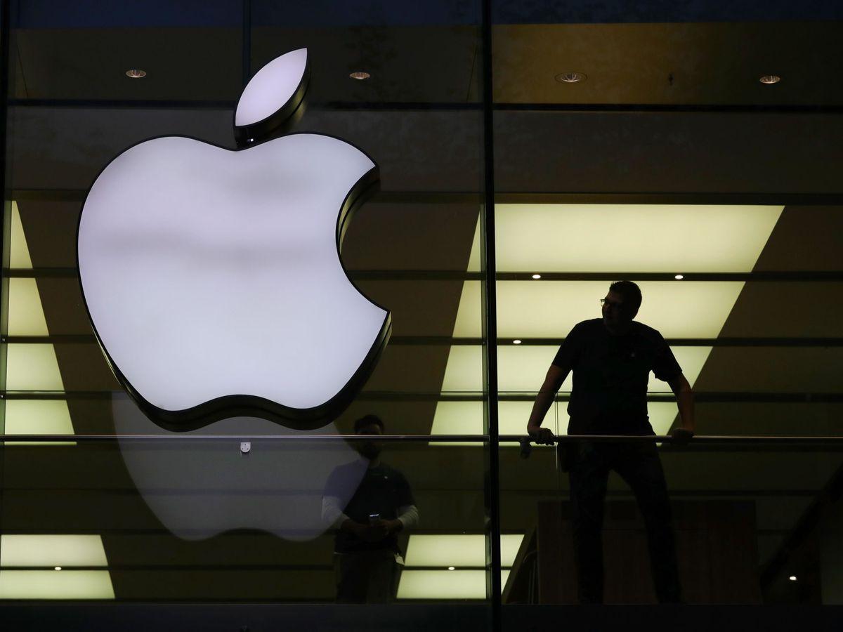 Foto: Vista de una oficina de Apple. (Reuters)