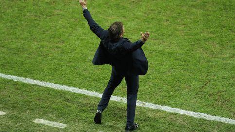 Conte sí hizo lo que no quiso (o no se atrevió) Del Bosque: repartir esfuerzos